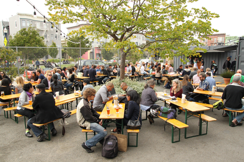 German Beer Garden